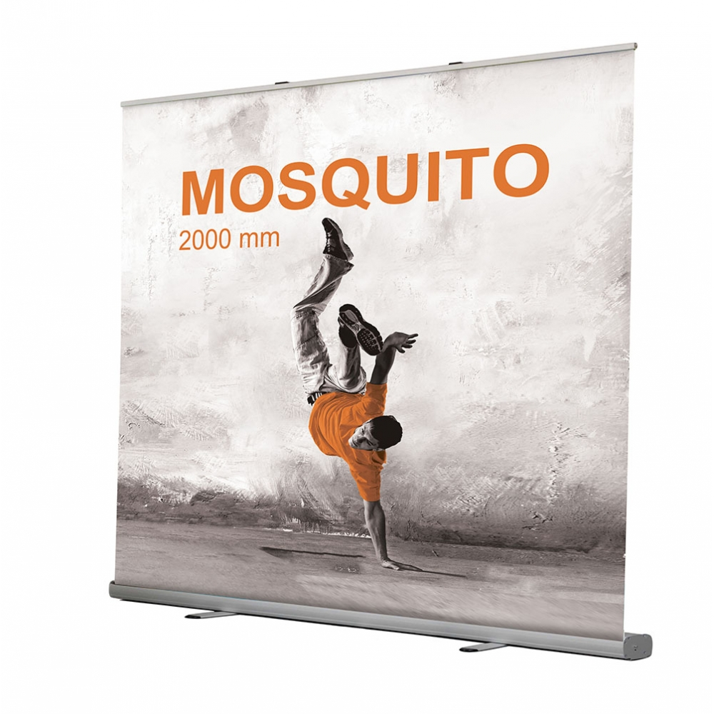 rollup mosquito 2x2 impression et personnalisation rollup. Black Bedroom Furniture Sets. Home Design Ideas